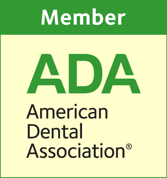 Logo for the American Dental Association (ADA)