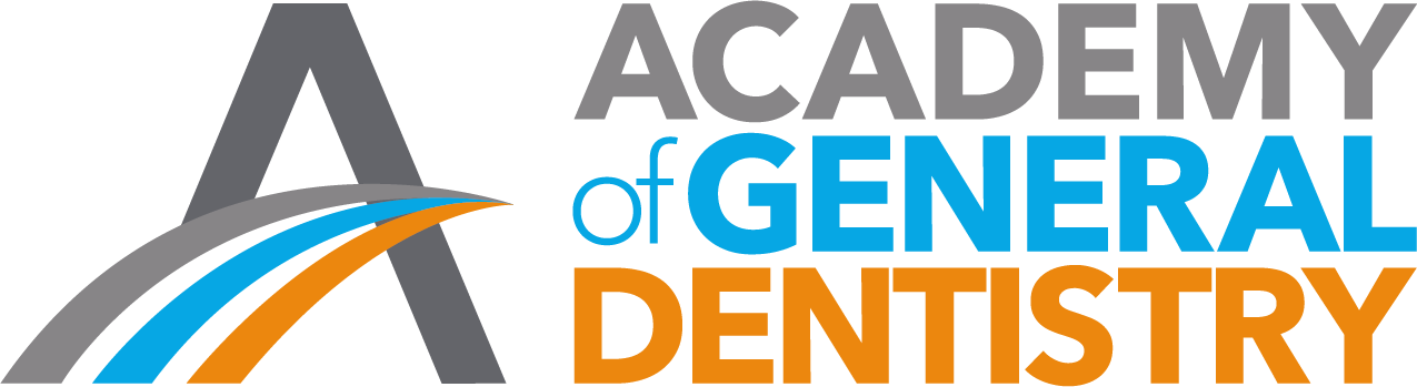 Logo for the Academy of General Dentistry (AGD)